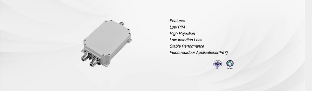 Leading manufacturer of RF Filter,RF Duplexer,Power Splitter