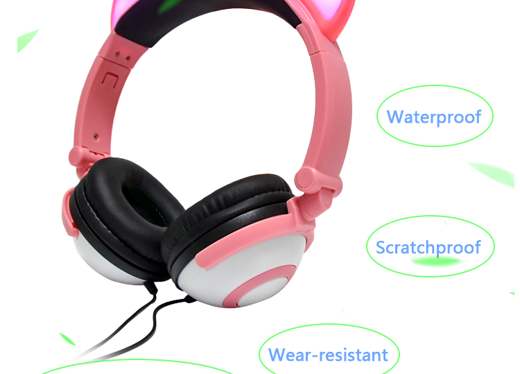 stereo over ears headphone