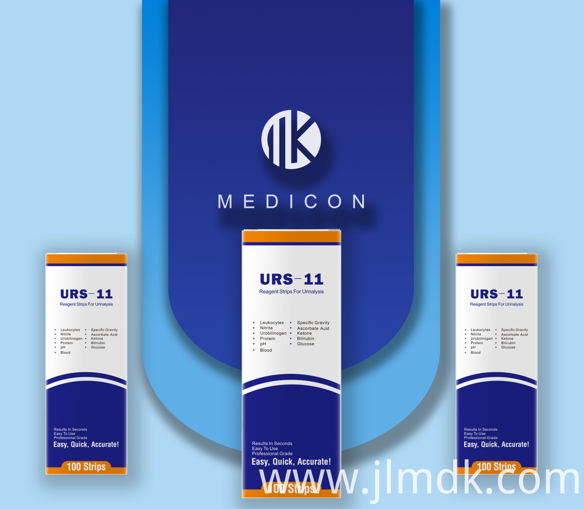 Visual inspection Urine Test Strips