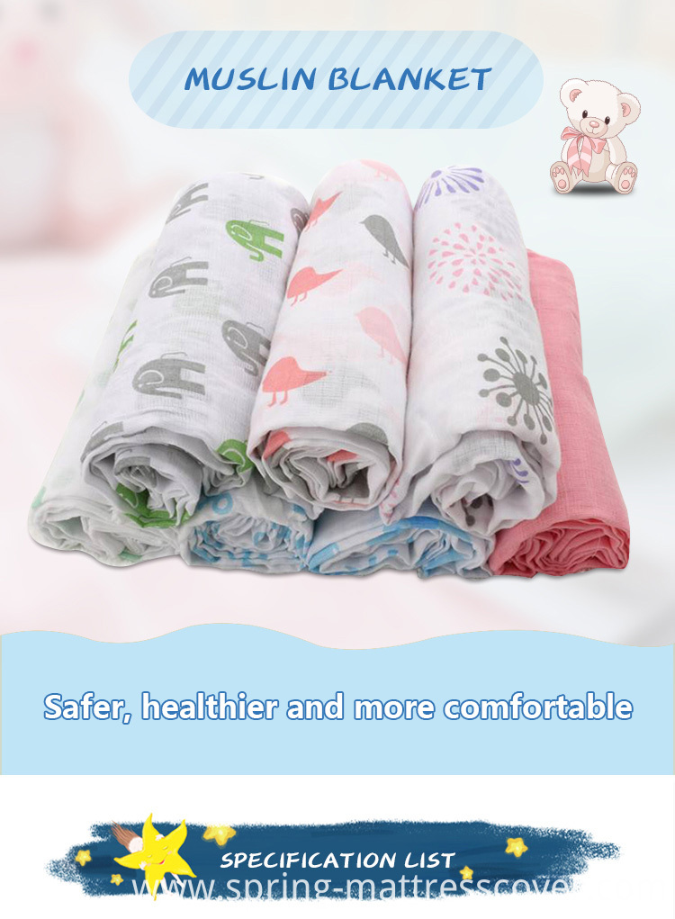 Cute Printed Baby Swaddle