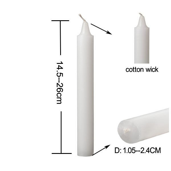 White Sticks Candle
