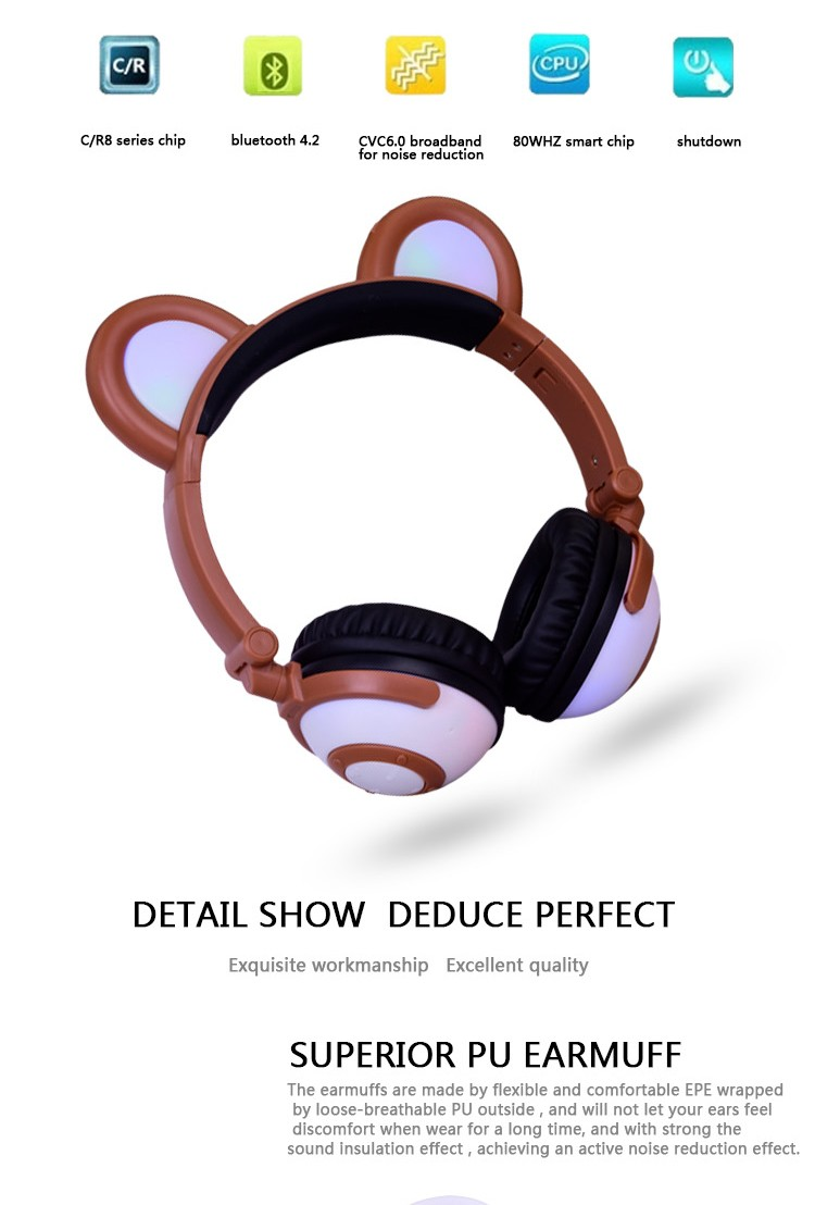 Adjustable Wired Headphone
