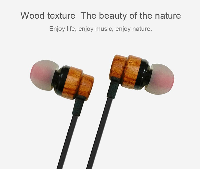 Wooden headset