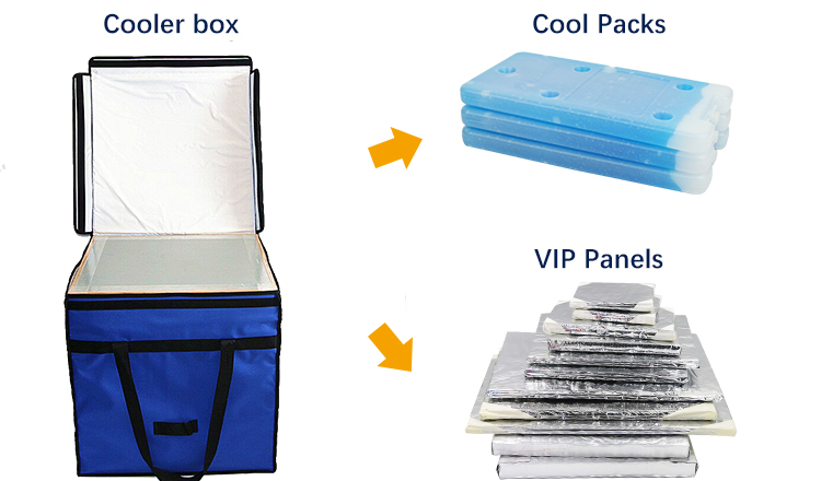 VIP medical cooler box