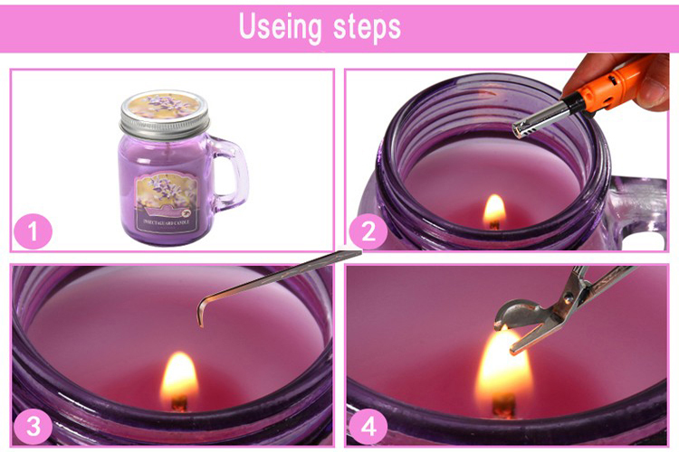 Glass Mason Jar Candles