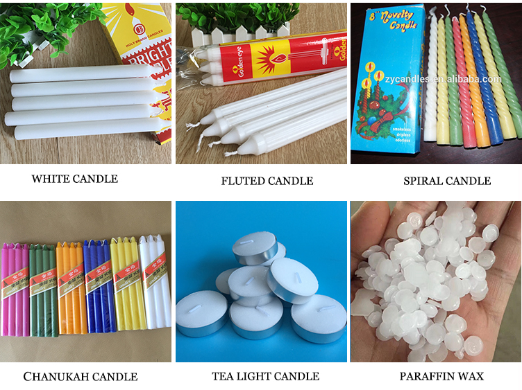 White Color Candles