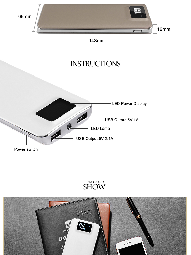 Metal Power Banks