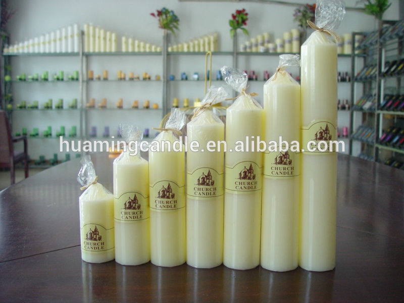 thin pillar candles