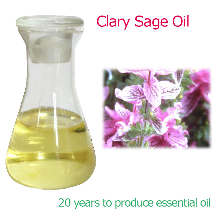 Custom OEM Clary Sage Essential Oil Manufacturer Supplier