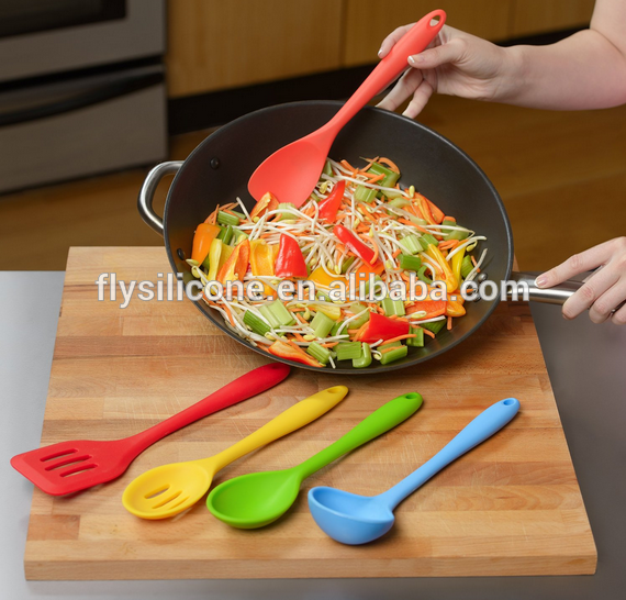 5 Pcs Set Silicone Spatula Set
