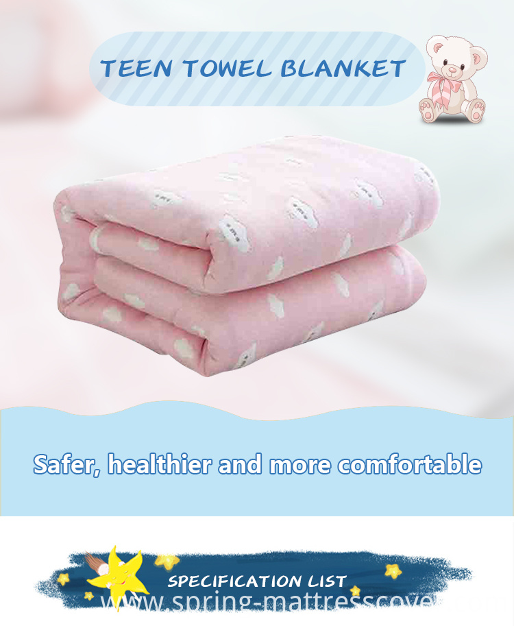 Cotton Towel Multilayer Blanket