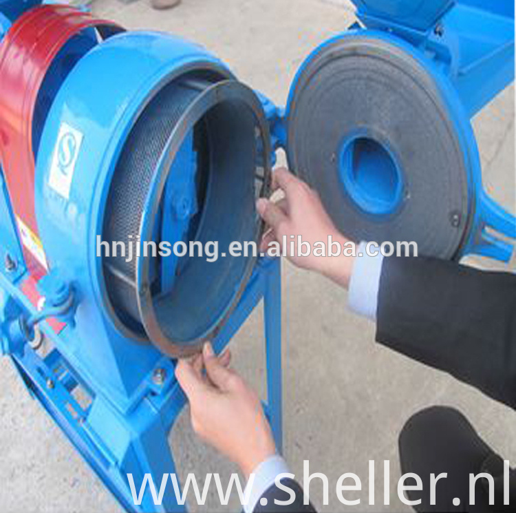 Grain Maize Grinding Machine In Flour Mill For Home Use