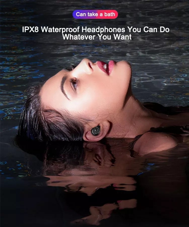 IPX8 Bluetooth Earphone