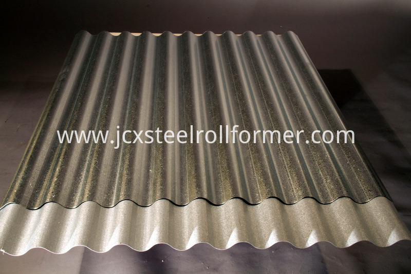 Long Span Corrugated PPGI/Gi Roofing Sheets Roll Forming Machinery