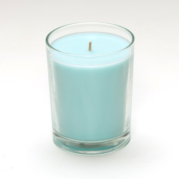 clear container candles