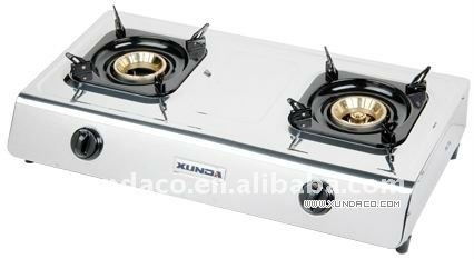 Double Burner Mini Gas Cooker