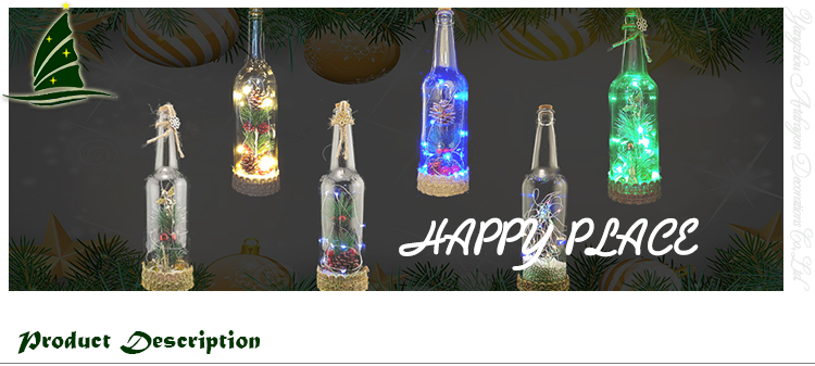 Lights for Wine Bottles Bar Decoration