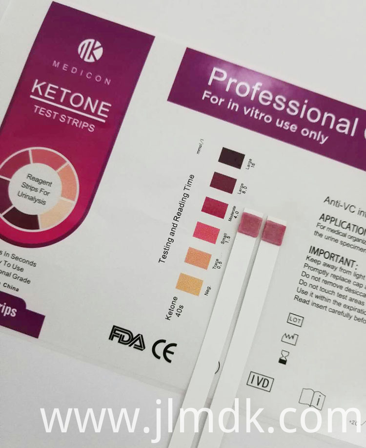Ketone Test Strips Kit