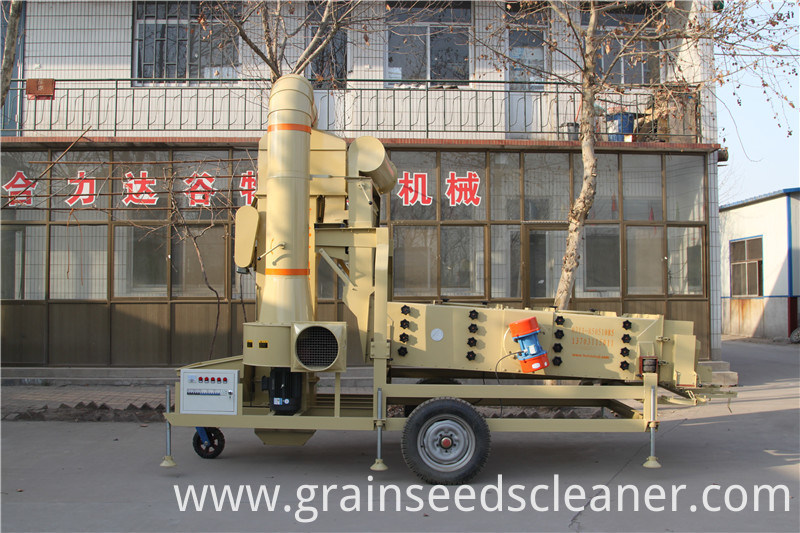 Grain Seeds Wheat Bean Maize Sesame Corn Air Seed Cleaner