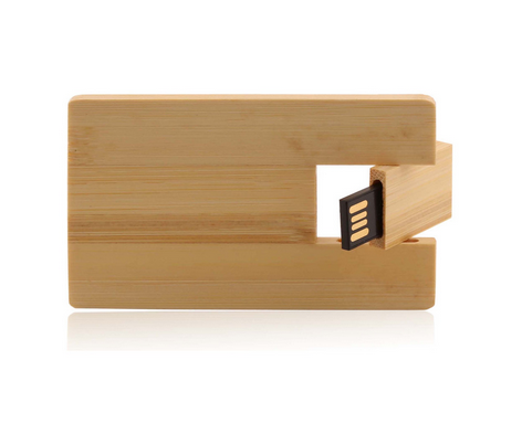 wooden card usb flash drive