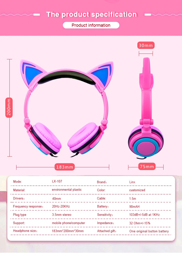 kitty earphones
