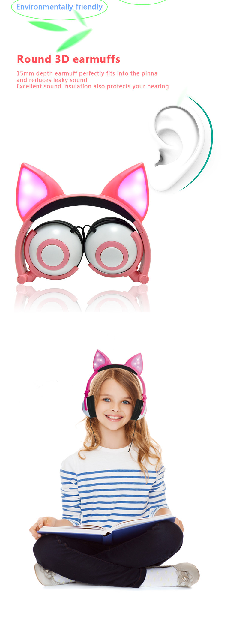 Cute headphone