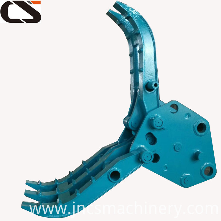 PC78us PC75uu excavator attachment hydraulic fixed grapple