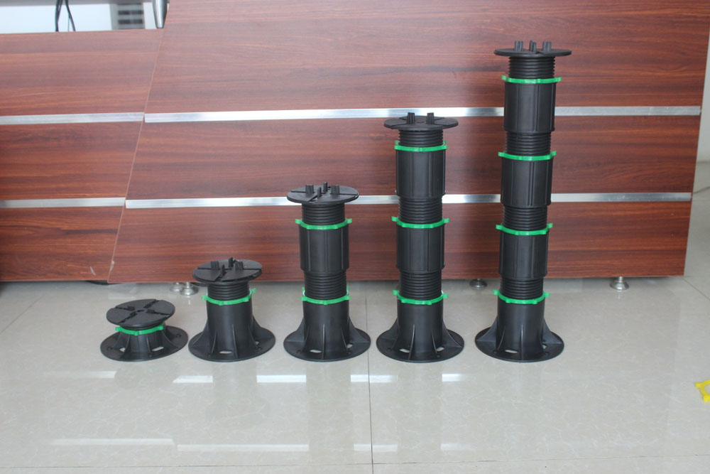 adjustable support pedestal