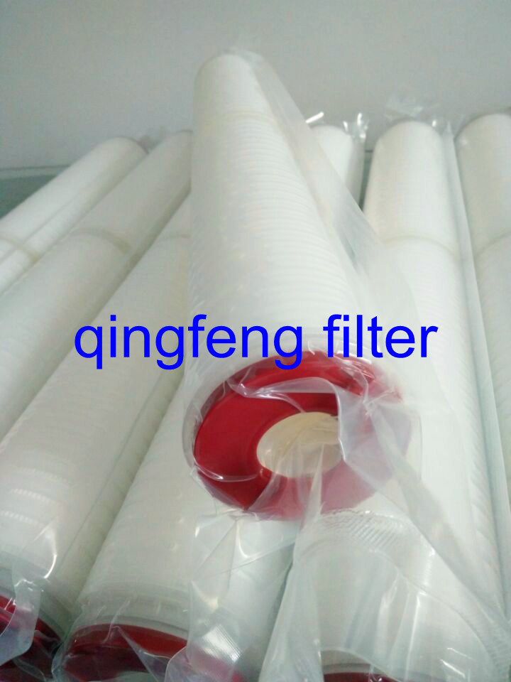 Bacteria Retention Safety Pes Membrane Filter Cartridge for Sterilizing Filtration