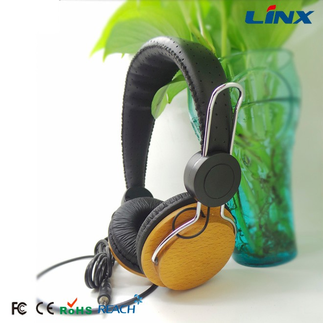 wood headphone