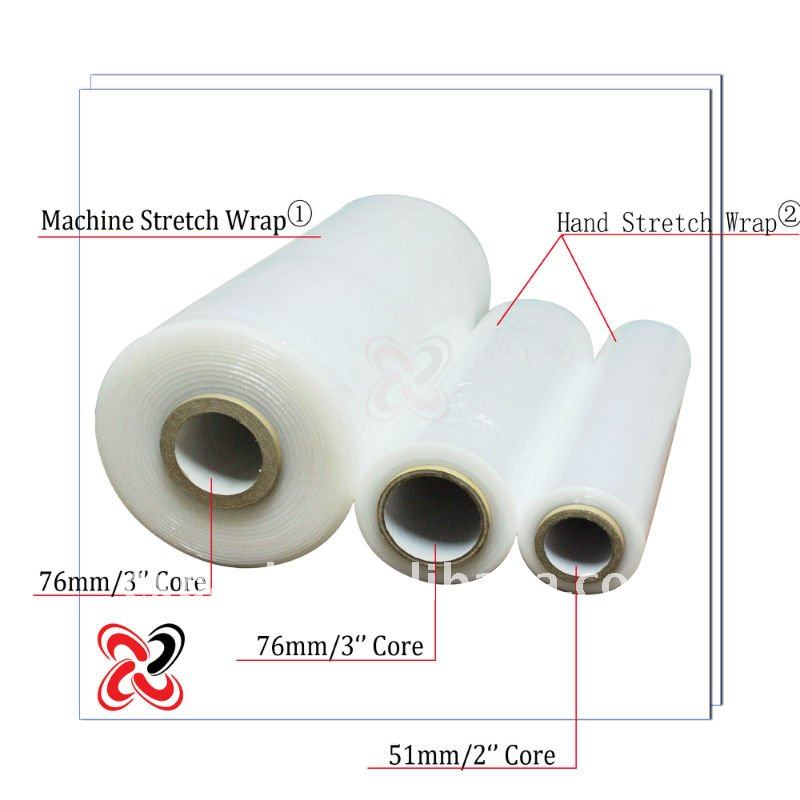 Clear Stretch Film Plastic Pallet Wrap