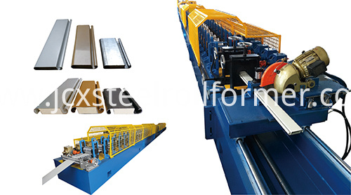 PU Foamed Double Layer Rolling Shutter Door Forming Machine