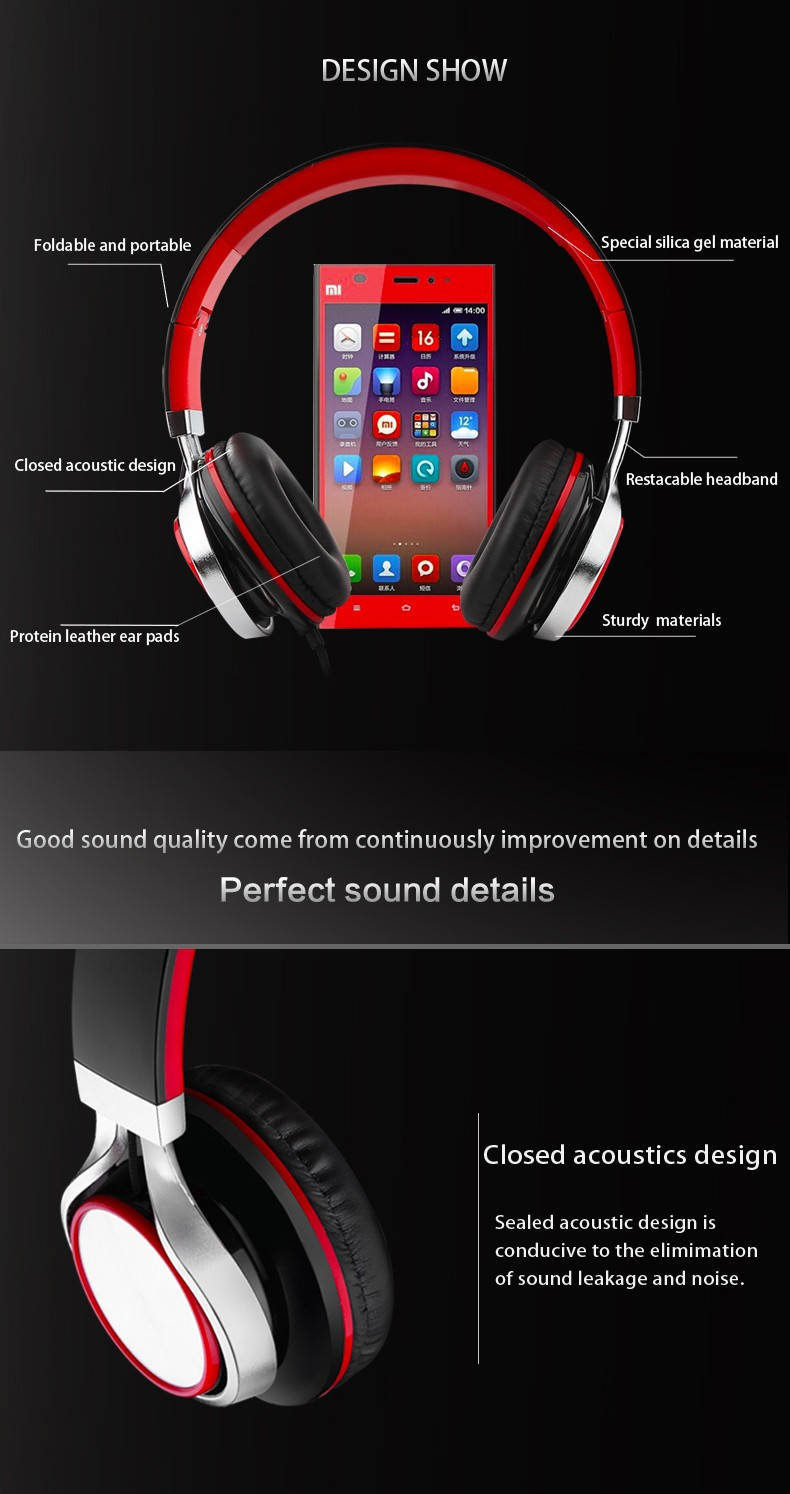 Perfect sounds headphone