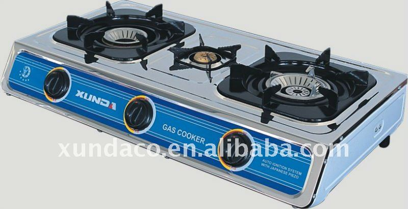 Whirlwind Flame Gas Cooker