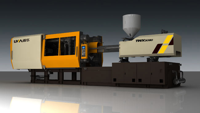 injection molding machine with servo pump
