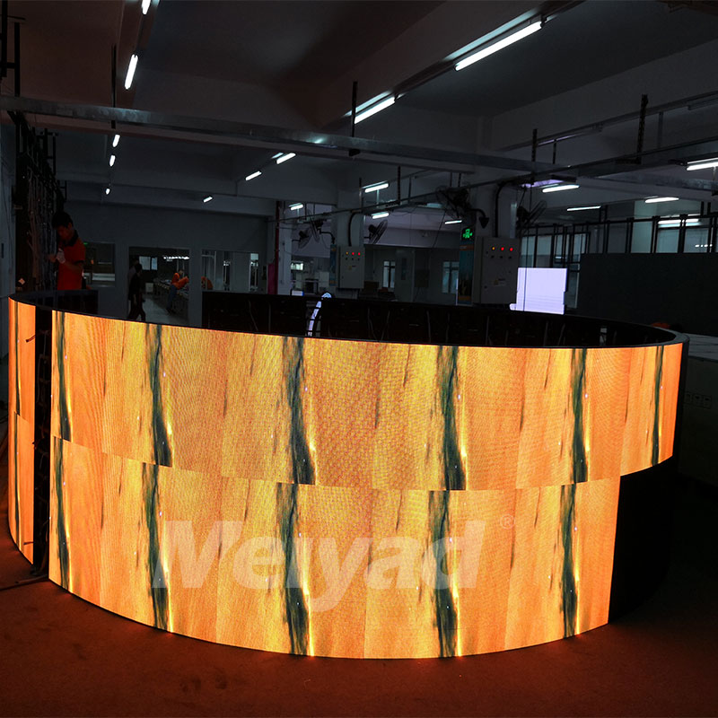 Flexible LED Advertising Screen