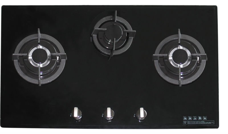 Built in Glass Five Burner