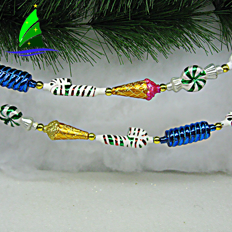 Glass Garland Hanging Ornament