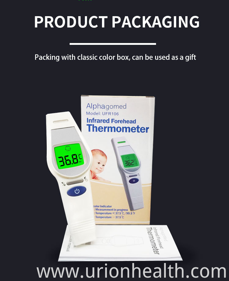 thermometer sticker