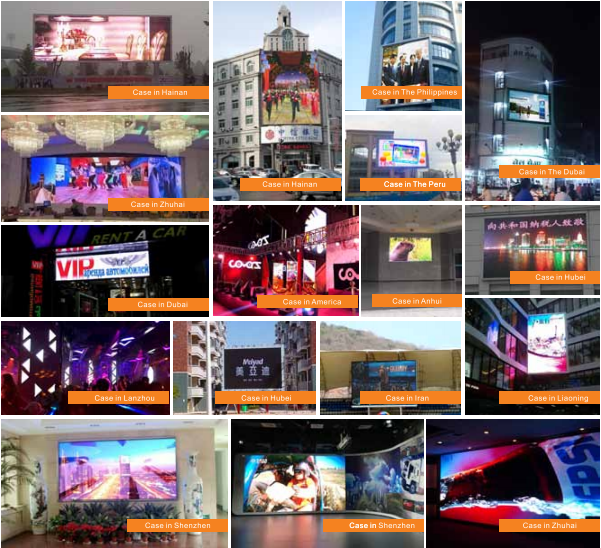 Column Advertising Led Screen