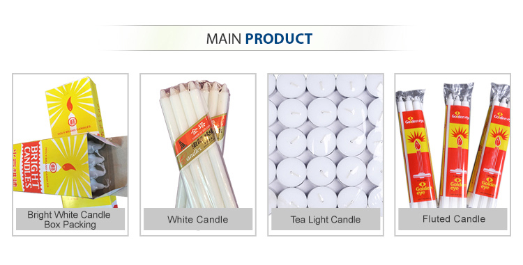 White Candle Velas