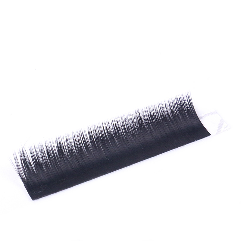 Man style false eyebrows sticker eyelashes human hair