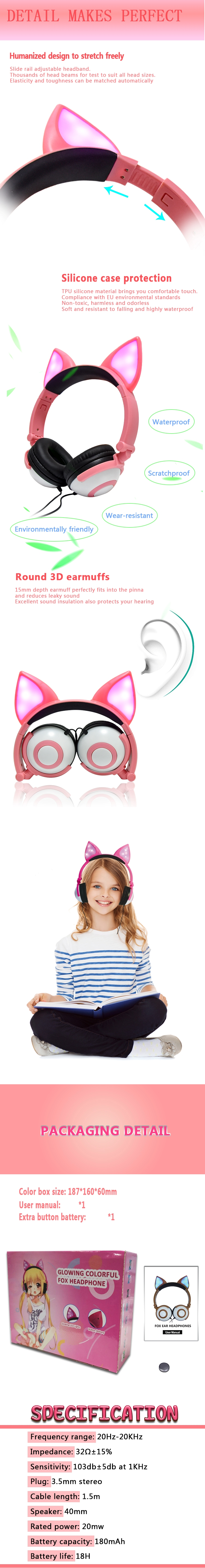 Fox Headphones