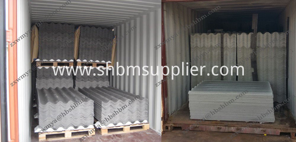 Fiber Cement Corrugated Roofing Sheets