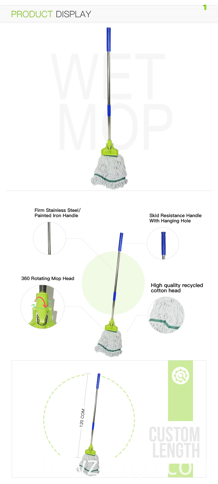 floor cleaning wet mop