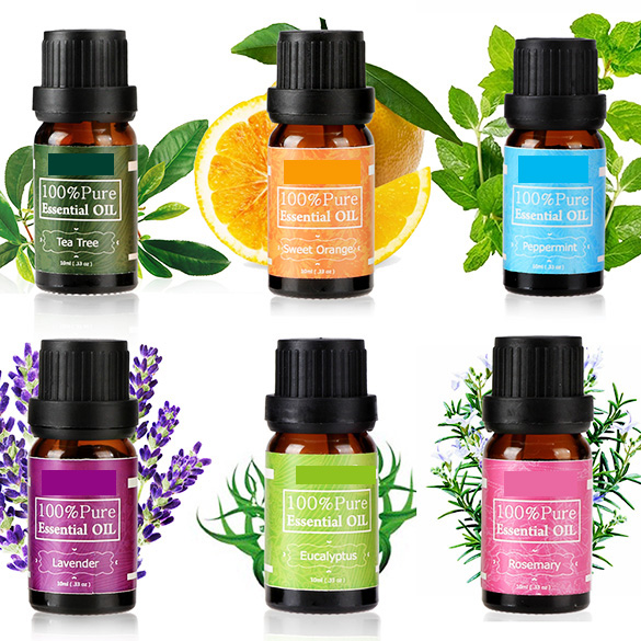 Different oils essential oil set