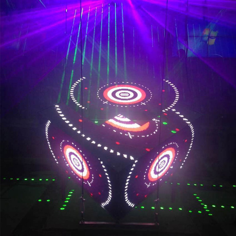 Remote Control Round Led Screen