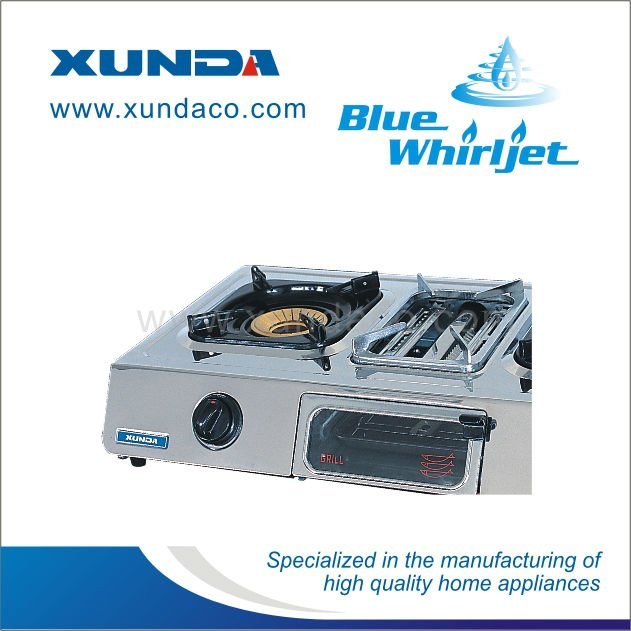 Standing Gas Cooker with Grill