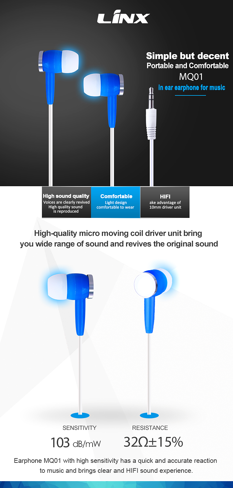 Good sounds earphone