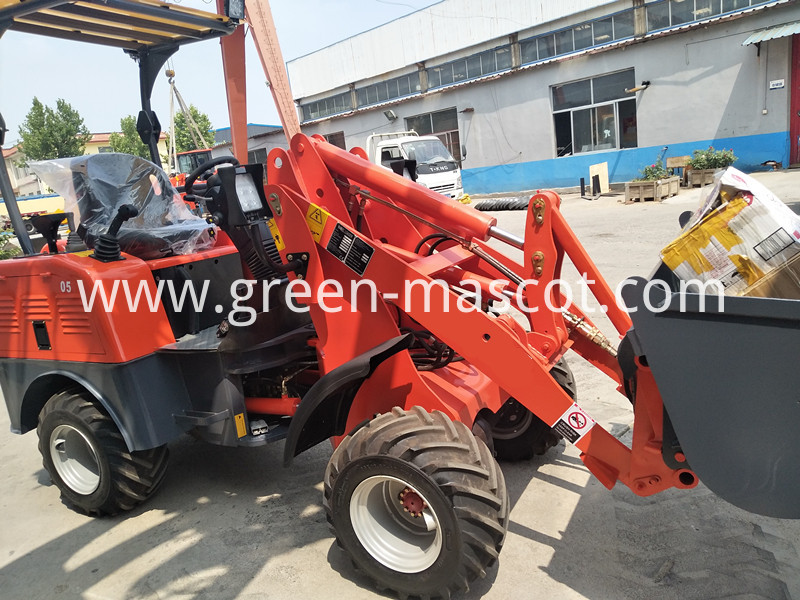 driving electric loader